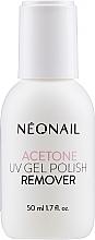 Düfte, Parfümerie und Kosmetik Kosmetisches Aceton zum Entfernen von künstlichen Nägeln - NeoNail Professional Acetone UV Gel Polish Remover
