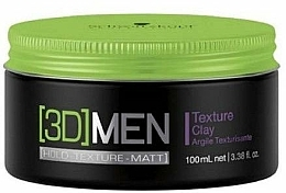 Düfte, Parfümerie und Kosmetik Modellierende Paste starke Fixierung - Schwarzkopf Professional 3D Mension Texture glay