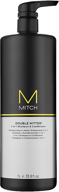 Shampoo & Duschgel 2in1 - Paul Mitchell Mitch Double Hitter 2in1Shampoo & Conditioner  — Bild N2