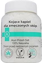 Düfte, Parfümerie und Kosmetik Entspannende Fußbadesalze - Biomika