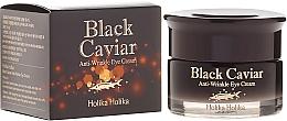 Düfte, Parfümerie und Kosmetik Anti-Falten Augencreme mit Extrakt aus schwarzem Kaviar - Holika Holika Black Caviar Anti Wrinkle Eye Cream