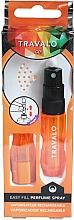 Düfte, Parfümerie und Kosmetik Nachfüllbarer Parfümzerstäuber orange - Travalo Ice Orange Refillable Spray