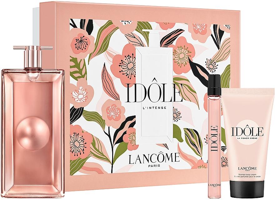 Lancome Idole - Duftset (Eau de Parfum 50ml + Eau de Parfum 10ml + Körpercreme 50ml)