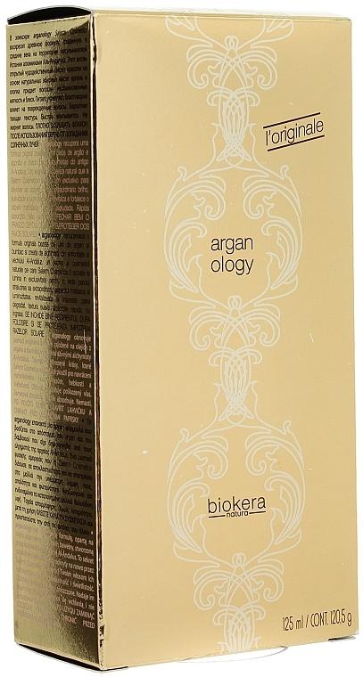 Regenerierendes Elixier für geschädigtes Haar - Salerm Biokera Natura Arganology Hair Spray