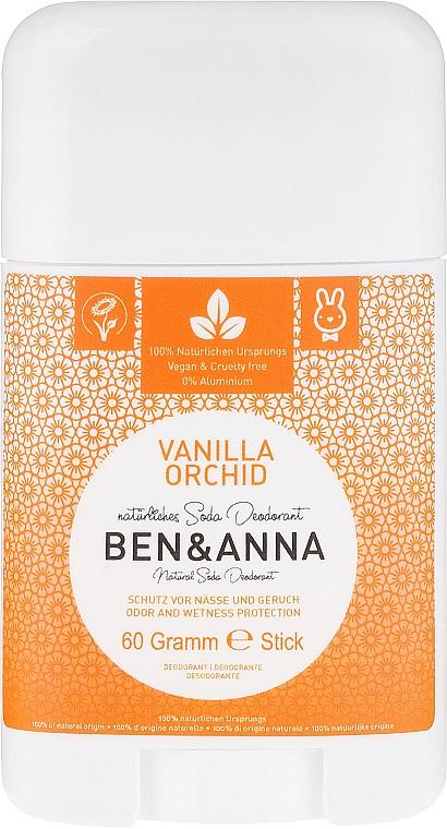 Natürlicher Soda Deostick Vanilla Orchid - Ben & Anna Natural Soda Deodorant Vanilla Orchid