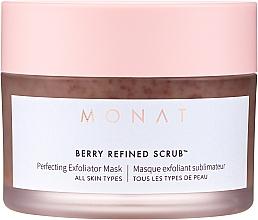 Düfte, Parfümerie und Kosmetik Maska peelingująca do twarzy - Monat Berry Refined Scrub Perfecting Exfoliator Mask