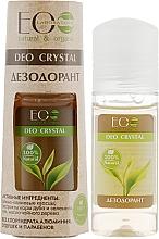 Düfte, Parfümerie und Kosmetik Natürliches Deospray mit Grüntee- und Eichenrindenextrakt - ECO Laboratorie Deo Crystal