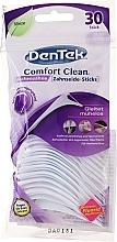 Düfte, Parfümerie und Kosmetik 2in1 Zahnseide-Sticks und Zahnstocher mit angerauter Oberfläche für Backenzähne 30 St. - DenTek Comfort Clean