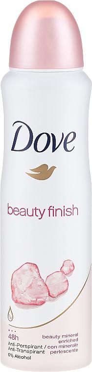 Deospray Antitranspirant - Dove Beauty Finish Deo Spray