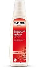 Düfte, Parfümerie und Kosmetik Regenerierende Pflegelotion mit Granatapfel - Weleda Granatapfel Regenerierende Pflegelotion
