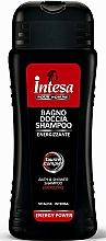 Düfte, Parfümerie und Kosmetik Energetisierendes Duschgel und Shampoo für Männer - Intesa Bath & Shower Shampoo Energy Power