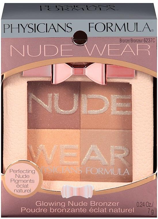 Bronzing Gesichtspuder - Physicians Formula Nude Wear Glowing Nude Bronzer — Bild N2