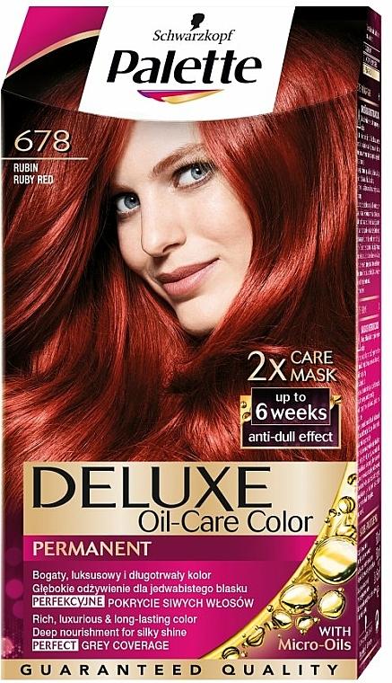Haarfarbe - Schwarzkopf Palette Deluxe