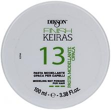 Düfte, Parfümerie und Kosmetik Modellierende Haarpaste mit Matt-Effekt - Dikson Finish Keiras Pasta Modellante Opaca 13