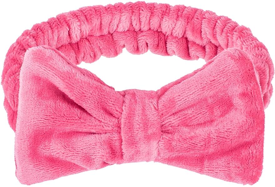 Kosmetisches Haarband Wow Bow Purpur - Makeup Raspberry Hair Band