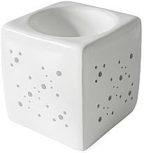Düfte, Parfümerie und Kosmetik Aromalampe quadratisch weiß - Flagolie By Paese Cube Fireplace White