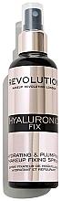 Düfte, Parfümerie und Kosmetik Make-up-Fixierer - Makeup Revolution Hyaluronic Fix Spray