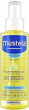 Düfte, Parfümerie und Kosmetik Beruhigendes und feuchtigkeitsspendendes Massageöl für Kinder - Mustela Bebe Massage Oil