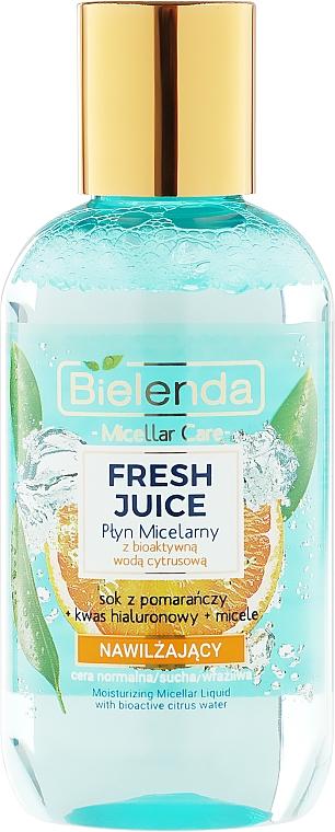 Mizellenwasser mit Orange - Bielenda Fresh Juice Micellar Water Orange