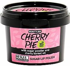 Düfte, Parfümerie und Kosmetik Aufweichendes Lippenpeeling mit Zuckerpulver und Kirschkernöl - Beauty Jar Cherry Pie Sugar Lip Polish