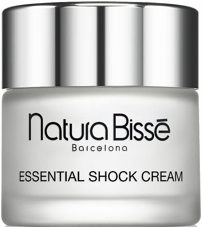 Stärkende Gesichtscreme für sehr trockene Haut mit Isoflavonen - Natura Bisse Essential Shock Cream+ isoflavones