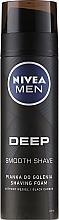 Düfte, Parfümerie und Kosmetik Rasierschaum - Nivea Deep Shaving Foam