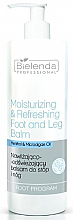 Düfte, Parfümerie und Kosmetik Feuchtigkeitsspendender und erfrischender Fuß- und Beinbalsam - Bielenda Professional Foot Program