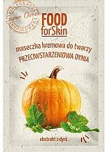 Düfte, Parfümerie und Kosmetik Anti-Aging Creme-Maske für das Gesicht mit Kürbisextrakt - Marion Food for Skin Cream Mask Anti-age Pumpkin