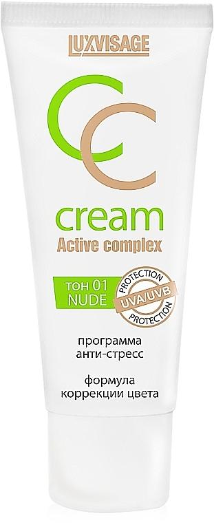 CC Creme gegen gestresste Haut - Luxvisage