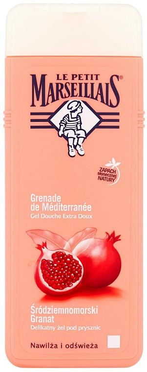 Feuchtigkeitsspendendes und erfrischendes Duschgel mit Granatapfel - Le Petit Marseillais