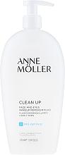 Düfte, Parfümerie und Kosmetik Make-up Entferner für Gesicht und Augen - Anne Moller Pro-Defense Makeup Remover Fluid Face and Eyes