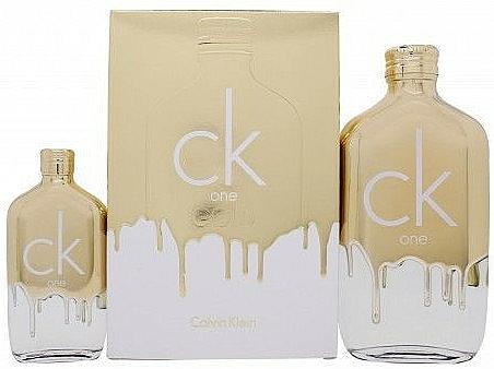 Calvin Klein CK One Gold - Duftset (Eau de Toilette 200ml + Eau de Toilette 50ml)