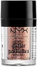 Düfte, Parfümerie und Kosmetik Hochpigmentierter Glitter für Augen - NYX Professional Makeup Metallic Glitter