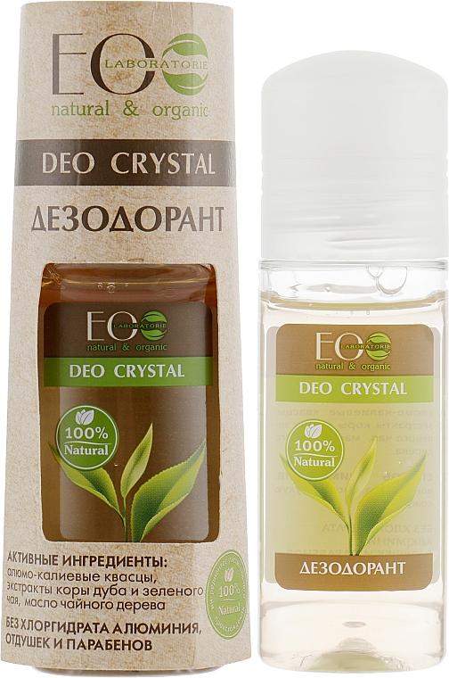 Natürliches Deospray mit Grüntee- und Eichenrindenextrakt - ECO Laboratorie Deo Crystal