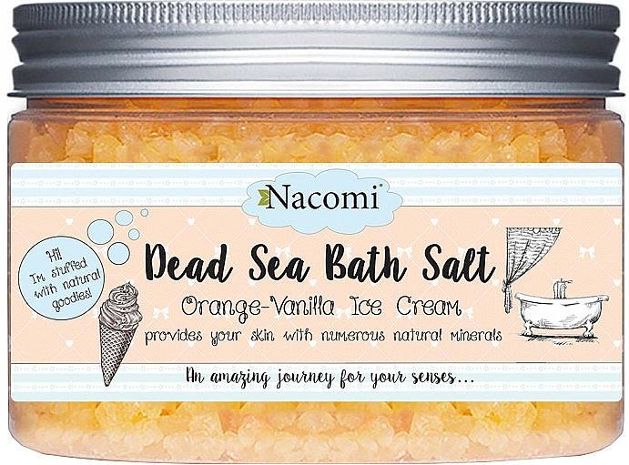 Badesalz aus dem Toten Meer mit Macadamia- und Vanilleduft - Nacomi Dead Sea Bath Salt