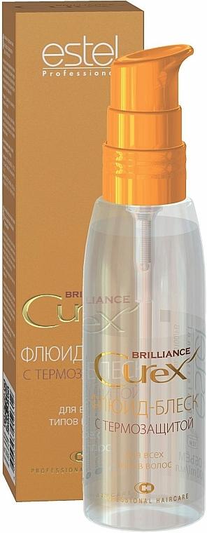 Haarfluid für mehr Glanz mit Hitzeschutz - Estel Professional Curex Brilliance Fluid
