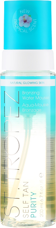 Selbstbräunungsmousse - St. Tropez Self Tan Purity Bronzing Water Mousse