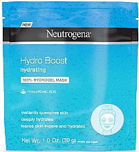 Düfte, Parfümerie und Kosmetik Feuchtigkeitsspendende Hydrogel-Gesichtsmaske mit Hyaluronsäure - Neutrogena Hydro Boost Hydrating Hydrogel Mask