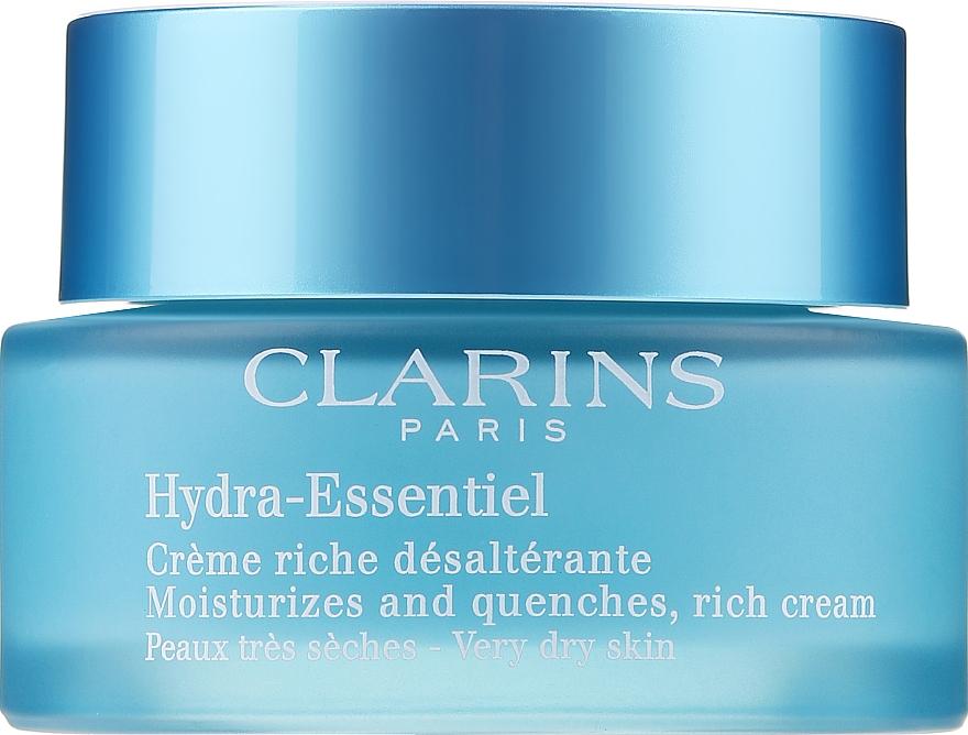 Feuchtigkeitscreme für trockene Haut - Clarins Hydra-Essentiel Rich Cream — Bild N1