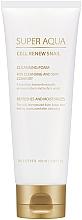 Düfte, Parfümerie und Kosmetik Erfrischender und feuchtigkeitsspendender Gesichtsreinigungsschaum mit 3% Schneckenschleimextrakt - Missha Super Aqua Cell Renew Snail Cleansing Foam