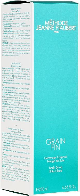 Körperpeeling für seidige Haut - Methode Jeanne Piaubert Grain Fin Body Scrub Silky Cloud — Bild N1
