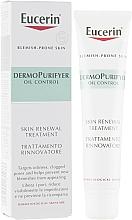 Düfte, Parfümerie und Kosmetik Erneuernde Gesichtspflege gegen Pickeln, Entzündungen und Reizungen - Eucerin DermoPurifyer Oil Control Skin Renewal Treatment