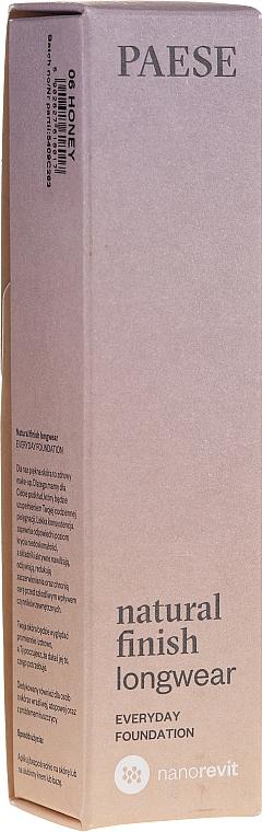 Langanhaltende Foundation - Paese Natural Finish Longwear