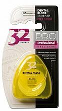Düfte, Parfümerie und Kosmetik Zahnseide 32 Pearls PRO in gelbem Etui - Modum 32 Perlen Dental Floss