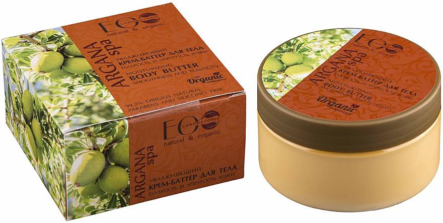 Feuchtigkeitsspendendes Körpercreme-Öl für glatte und elastische Haut - ECO Laboratorie Argana SPA Body Cream-Butter