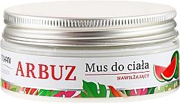 Düfte, Parfümerie und Kosmetik Feuchtigkeitsspendende Körpermousse mit Wassermelonenextrakt, Sheabutter und hautpflegenden Ölen - Mohani Wild Garden