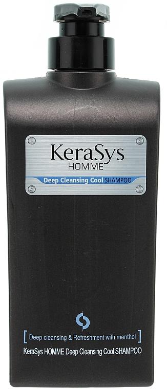 Shampoo für Männer, Tiefenreinigung und Erfrischung - KeraSys Homme Deep Cleansing Cool Shampoo