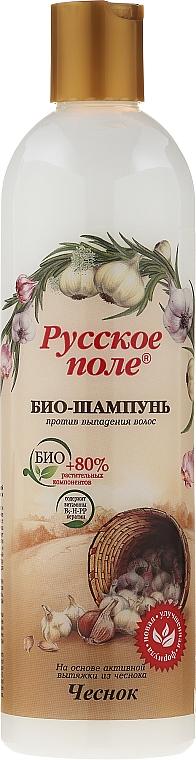 Bio Shampoo gegen Haarausfall mit Knoblauchextrakt - Fratti HB Russisches Feld