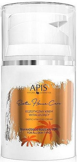 Vitalisierende Creme für alle Hauttypen mit Vitamin C - Apis Professional Exotic Home Care Vitalizing Cream