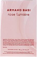 Armand Basi Rose Lumiere - Eau de Toilette  — Bild N3